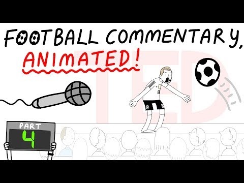 Crazy Football Commentary Animated! (Part 4)