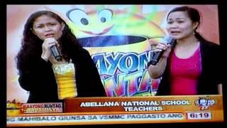 Marijune and Rhea May @ Maayong Buntag Kapamilya