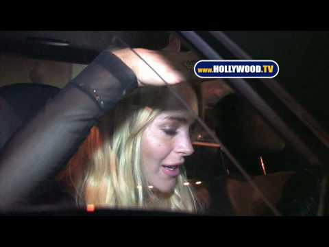 Birthday Girl Lindsay Lohan At Voyeur Nightclub