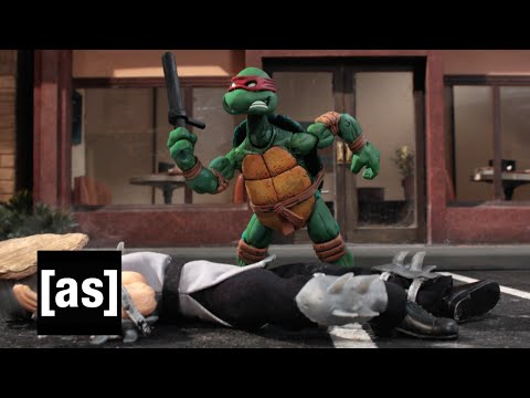 TMNT Pizza Brutality | Robot Chicken | Adult Swim