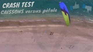 Kitesurf : AILE A CAISSONS versus PETOLE _ Crash Test | LAB TV ⭐