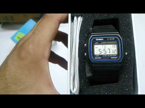 Review for casio f 91 w in hindi