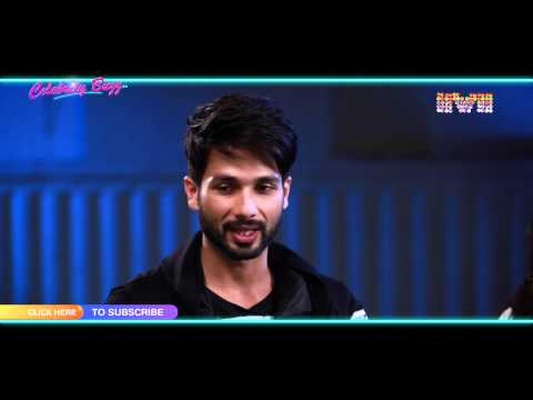 Shraddha Kapoor & Shahid Kapoor talk about their first day shooting experience on set of
