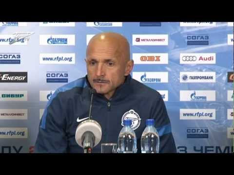 Luciano Spalletti`s press conference after Zenit — Terek (English subtitles)