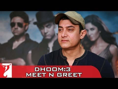 Meet-n-Greet With Aamir Khan - Dhoom:3