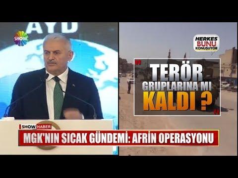 MGK'nın sıcak gündemi: Afrin Operasyonu