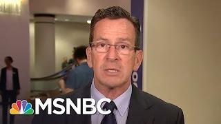 Gov. Dan Malloy: We Do Not Discriminate Against Transgender People | MSNBC