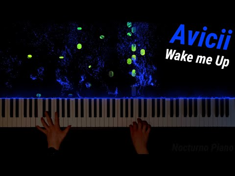 Avicii - Wake Me Up (Piano Cover) [FREE MIDI]