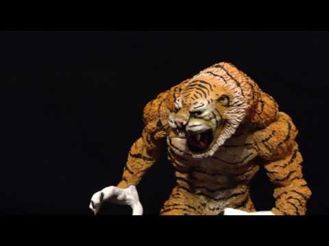 super sculpey  tiger beast