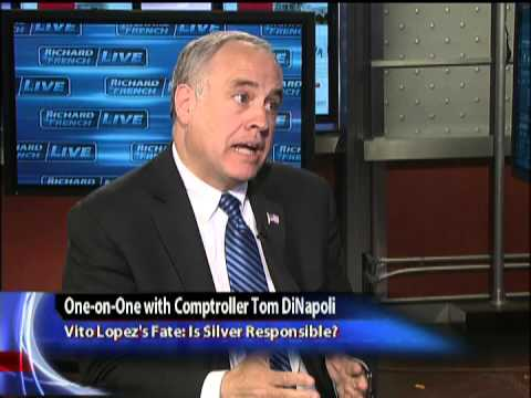 One-on-One with Comptroller Tom DiNapoli: How Bad is Albany Corruption?