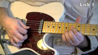 3 Pedal Steel Licks for Guitar