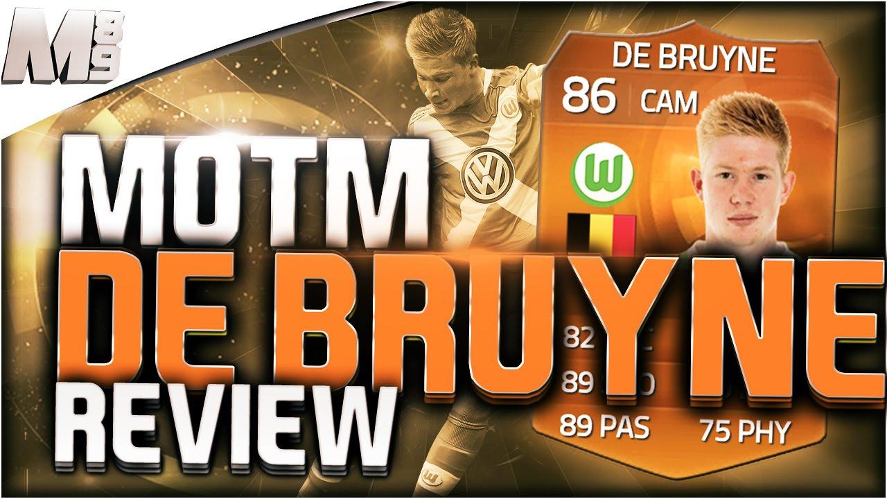 FIFA 15 Ultimate Team MOTM Kevin De Bruyne 86 Player