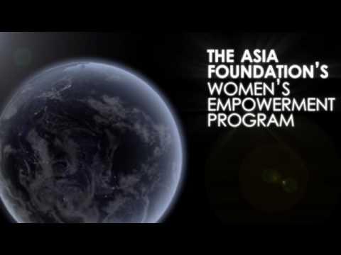The Asia Foundation's Women's Empowerment Program