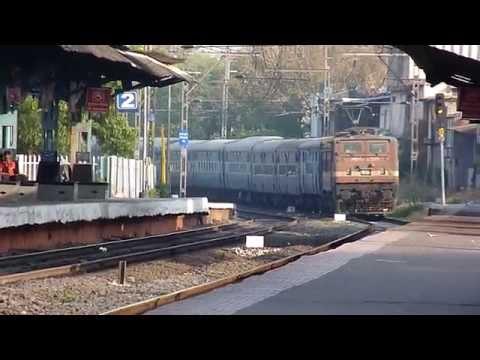 Jaipur Superfast Cruises Towards Destination With A Dirty Brc Wap-4e! video