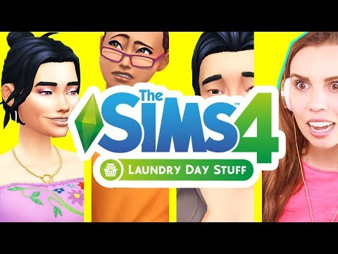 Create a Sim Review! The Sims 4 Laundry Stuff Pack!