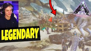 LEGENDARY ORBITAL SUPPLY DROP MET GIGA LEGER?! | ARK Extinction #17