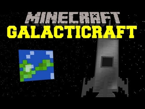Minecraft Mod Showcase - Galacticraft Mod - Mod Review