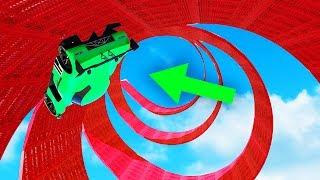 MOST IMPOSSIBLE SPIRAL LOOP EVER! (GTA 5 Funny Moments)