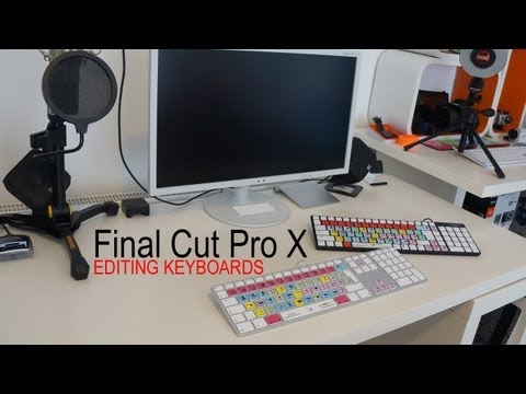 Final Cut Pro X Editing Keyboard Review - Editors Keys