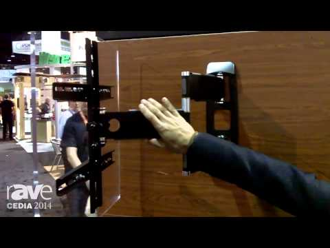 CEDIA 2014: ProMounts Displays Its Aluminum UltraSlim Media Mount