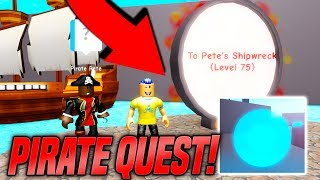 SECRET PIRATE QUEST AND LAVA RACE IN SPEED SIMULATOR 2! *EPIC* (Roblox)