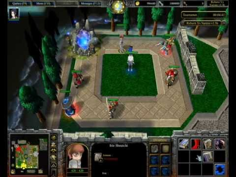 Warcraft III - Reborn vs Naruto v1.4 Tutoriel Items.