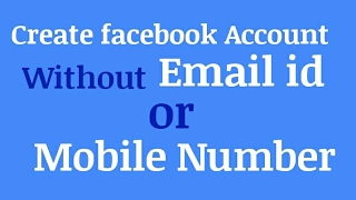 download lagu 100% Legal Create Facebook Account Out Email Id Or gratis