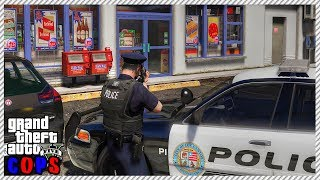 GTA 5 Cop Roleplay - Active Store Robbery | RedlineDOJ Eᴘ.8