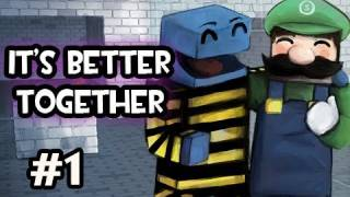 Minecraft: It's Better Together w/Nova & SSoHPKC Ep.1 - We Dont Do Puzzles...