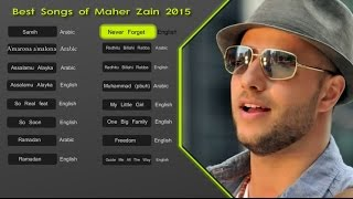 Download Lagu Maher Zain Best Songs 2015 - Soundtrack | اناشيد ماهر زين Gratis STAFABAND