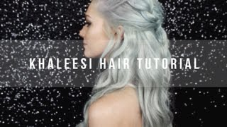 Khaleesi Hair Tutorial with Clip-In Hair Extensions - LUXURY FOR PRINCESS
