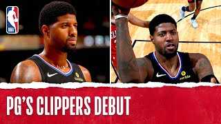Paul George Drops 33 PTS In Clippers DEBUT