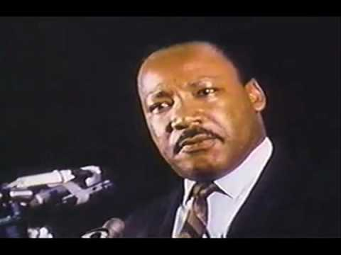 Martin Luther King's Last Speech: i've Been To The Mountaintop video