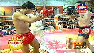 Kun Khmer, ហេង វិឆ័យ Vs ម៉ាជីត, Heng Vichhai (Cam) Vs Majet Housen (May), SEATV boxing 3 Nov