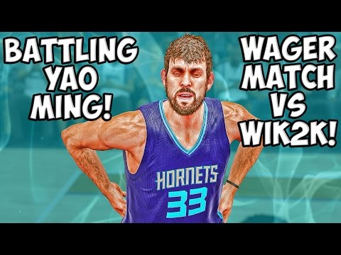 NBA 2K15 MyTeam Gameplay - Wager Match Bud22089 vs WIK2K! CRAZY TEAM! FULL GAME FRIDAY!