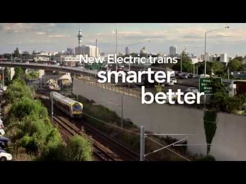 Auckland's new electric trains: Features