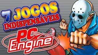 PC Engine - TurboGrafx-16 - 7 Jogos Indispensáveis
