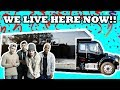 THIS IS WHERE WE LIVE NOW!! (BUS TOUR)