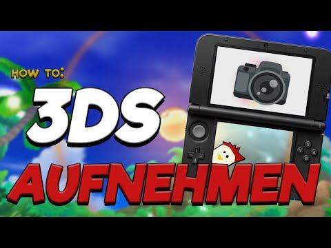 HOW TO: Nintendo 3DS/2DS aufnehmen 🕹 Tutorial mit Wowa