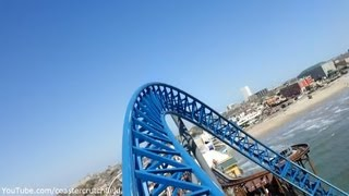 Iron Shark (HD POV) Galveston Island Historic Pleasure Pier