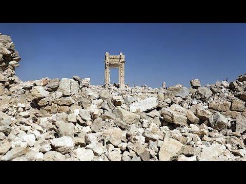 Palmira'da savaş sona erdi ancak mayınlar can almaya devam ediyor