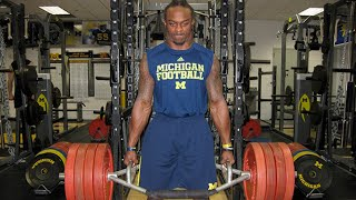 Michigan Football S&C Coach Aaron Wellman