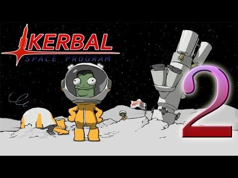 Kerbal Space Program v0.23. Северный и южный полюса. 2 серия