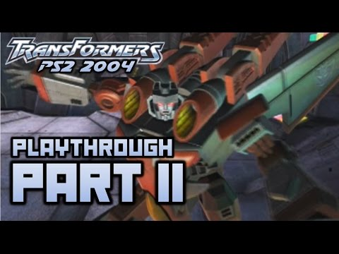 Transformers (PS2) Playthrough Part 11 - The Mountain (720p)