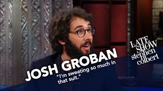 Josh Groban Is Always On-Call To Sing For Oprah