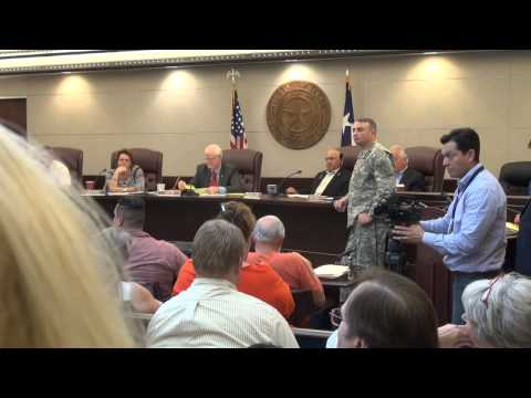 Texas Special Forces Veterans Address County Commissioners And #ASOC About #JadeHelm15