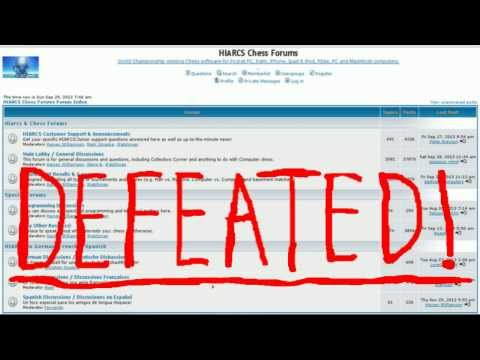 Hiarcs.net Defeated! - By The A.R.B Chess System