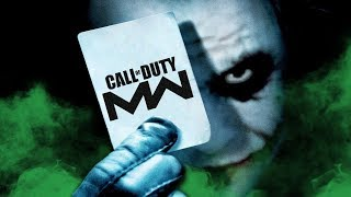 THE JOKER VOICE TROLLING ON CALL OF DUTY: MODERN WARFARE