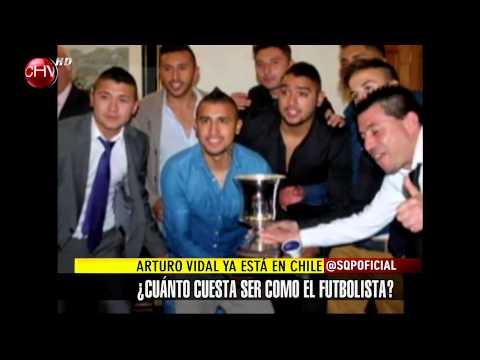 Arturo Vidal volvió a Chile para casarse el sábado 27 de diciembre - SQP