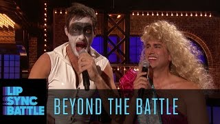Beyond the Battle with Rob Riggle and Jeff Dye | Lip Sync Battle